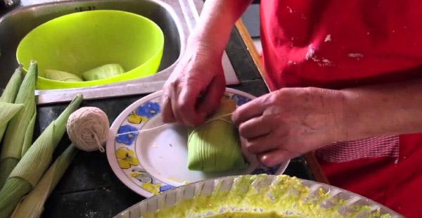 receta de humitas